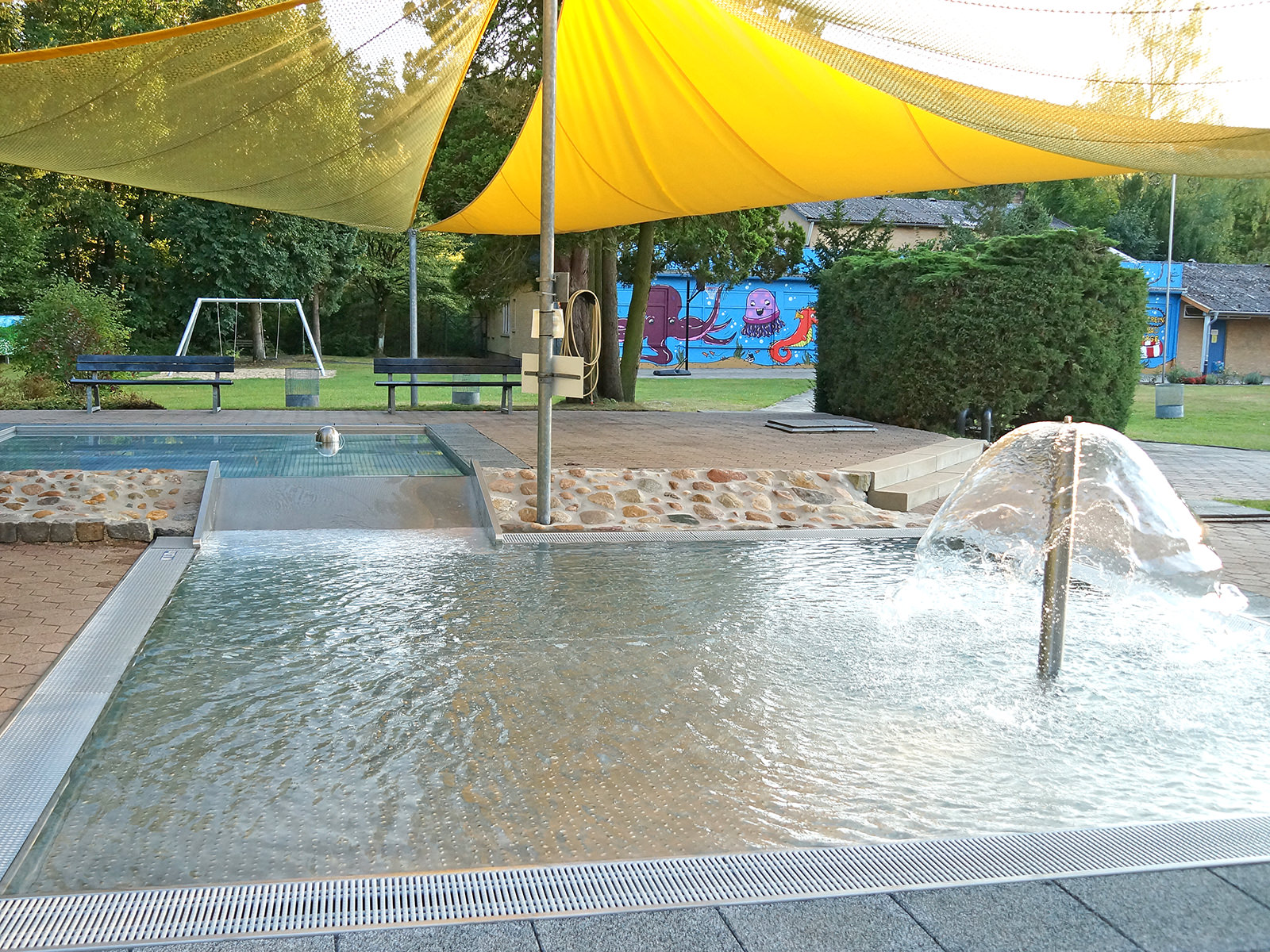 Schwimmbecken für Kleinkinder und Babys im Schwimmbad Bleckede