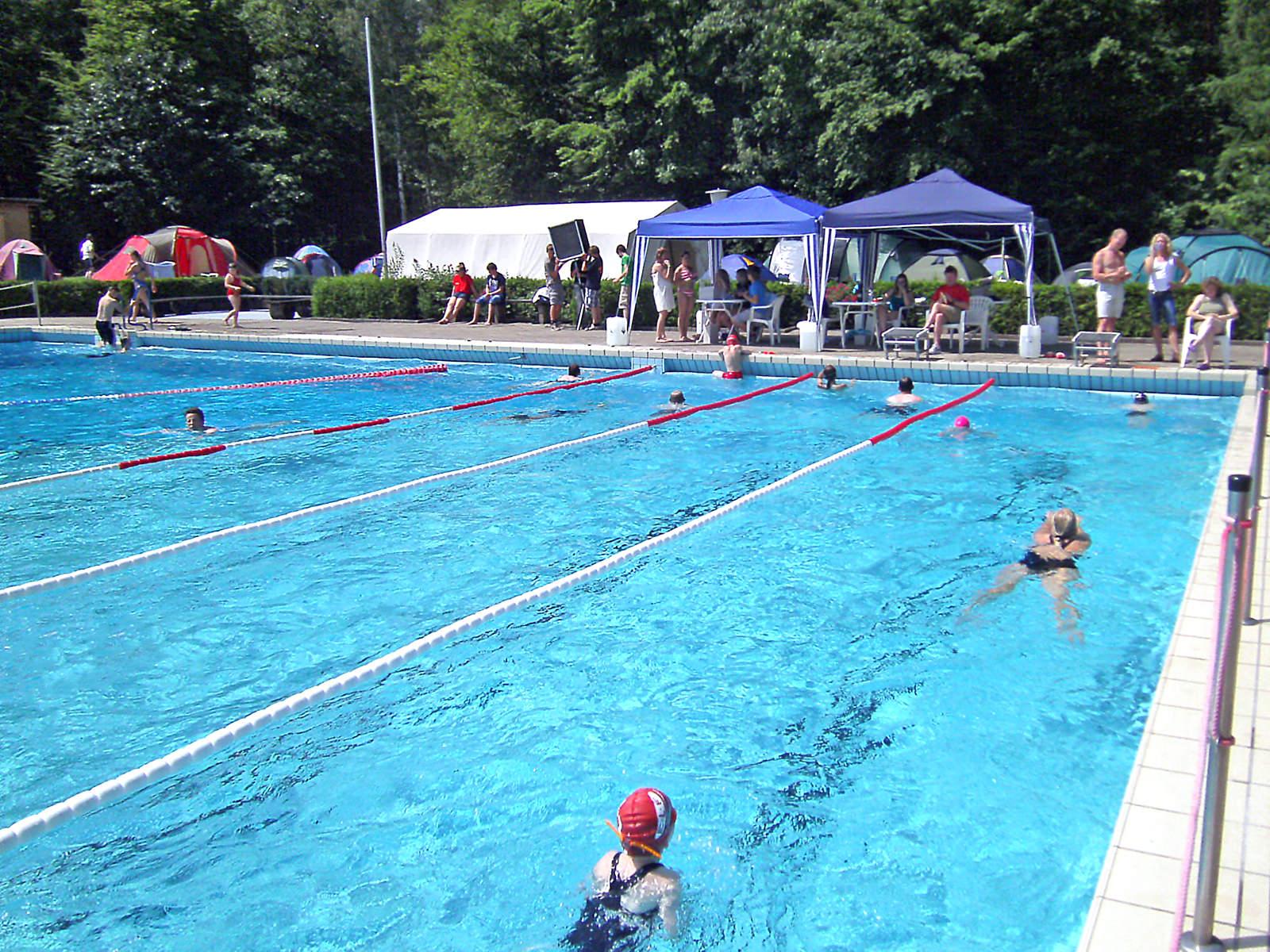 24 Stunden Schwimmen im Waldbad Alt Garge